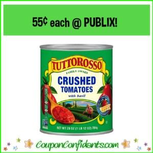 $0.55 TUTTOROSSO CANS AT PUBLIX