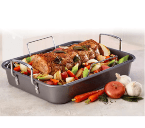 Farberware 12″ x 16″ Nonstick Roaster with Rack Was $29.99 NOW $19.99
