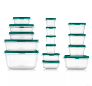 Rubbermaid 30pc Food Storage Container Set with Easy Find Lids Forest Green Was $41.99 NOW $7.99!!