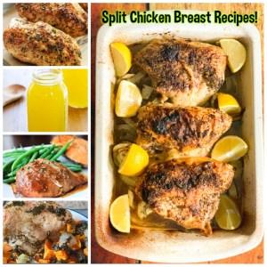 Split Chicken Breast Meal Ideas! Dinner on a budget! :)