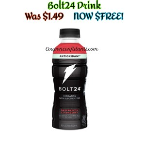 FREE Bolt24 Drink – ANYONE can do this deal!