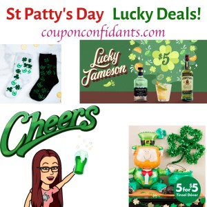 St Patrick's Day Deals on Food, Apparal, and Accessories!