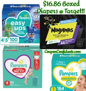 Boxed Diapers at Target $16.86 Mix and Match!