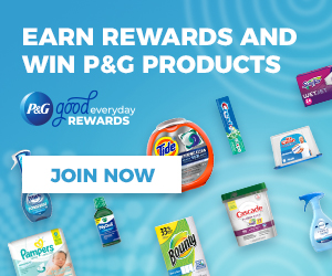 P&G Rewards – FREE Sign up for Coupons, Prizes, and Rewards!!