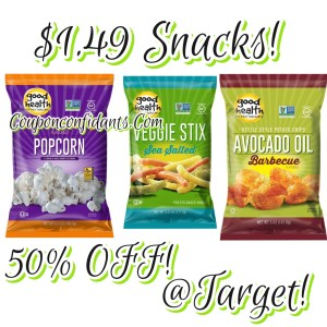 $1.49 Chips and Snacks at Target!