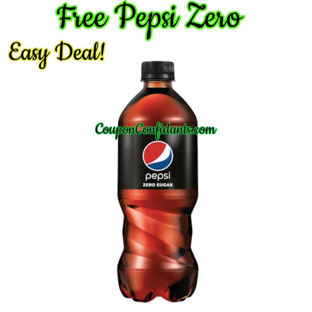 FREE Pepsi Zero Sugar? YES PLEASE!