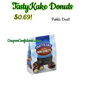 TastyKake Donuts $0.69 at Publix!