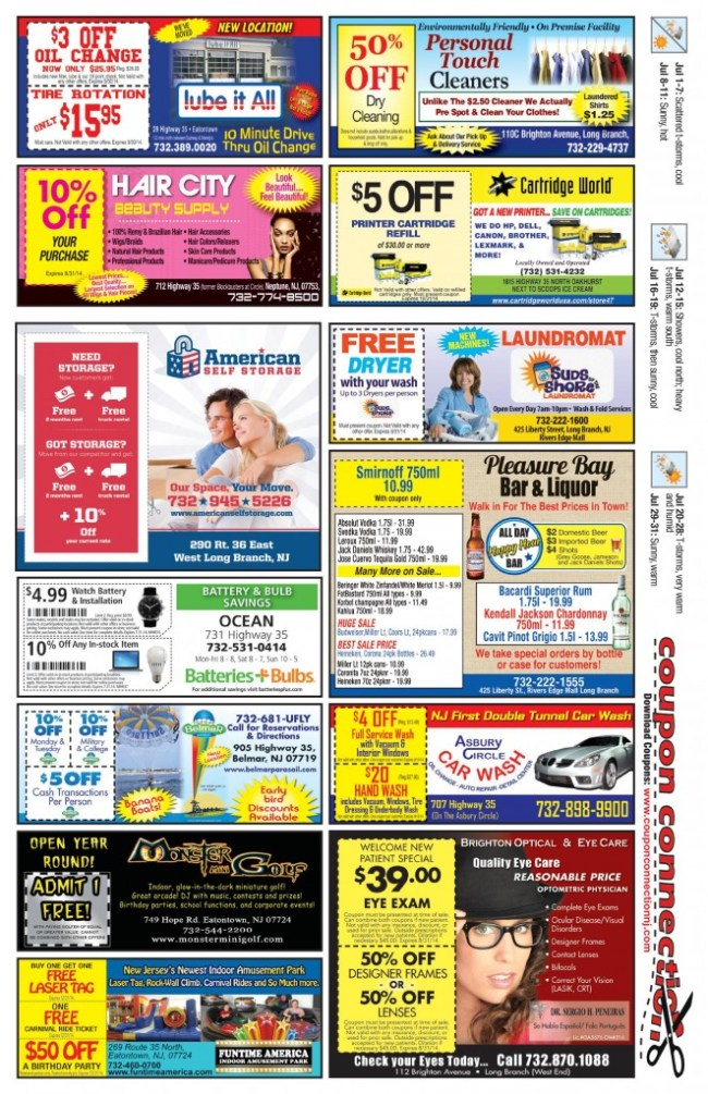 June Coupon Connection/Dining Connection