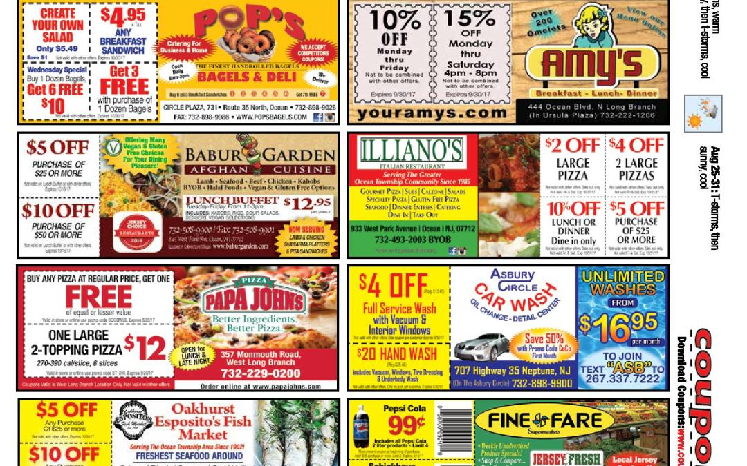 JUNE 2017 COUPON CONNECTION/SUMMER FUN CONNECTION – CLICK TO SEE COUPONS