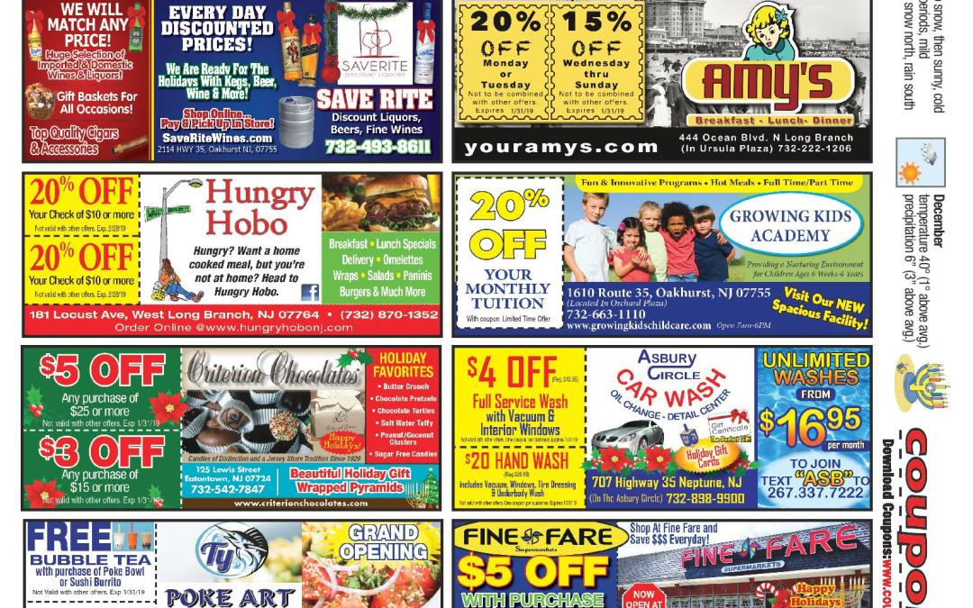 November/2018 Coupon Connection – Click Here To See Coupons