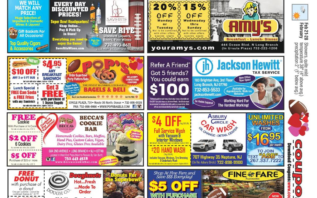 January/2019 Coupon Connection – Click Here To See Coupons