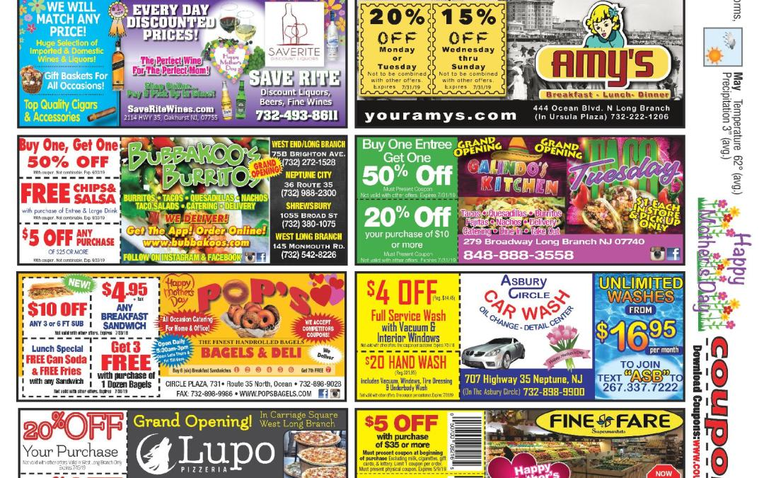 April/2019 Coupon Connection – Click Here To See Coupons