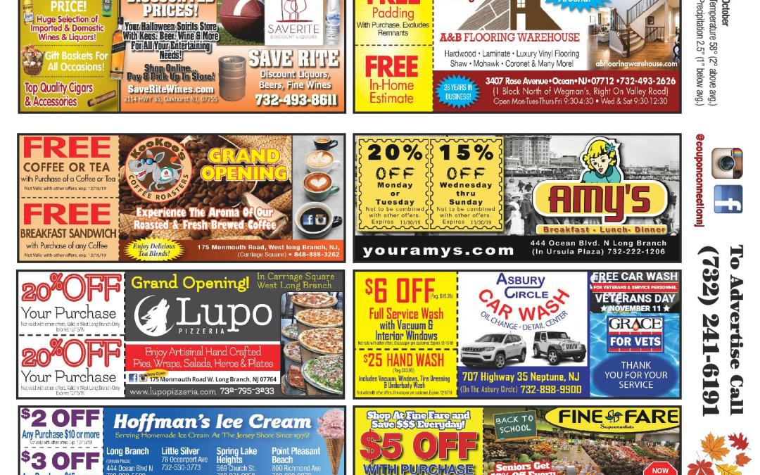 September/2019 Coupon Connection – Click Here To View Ads & Coupons