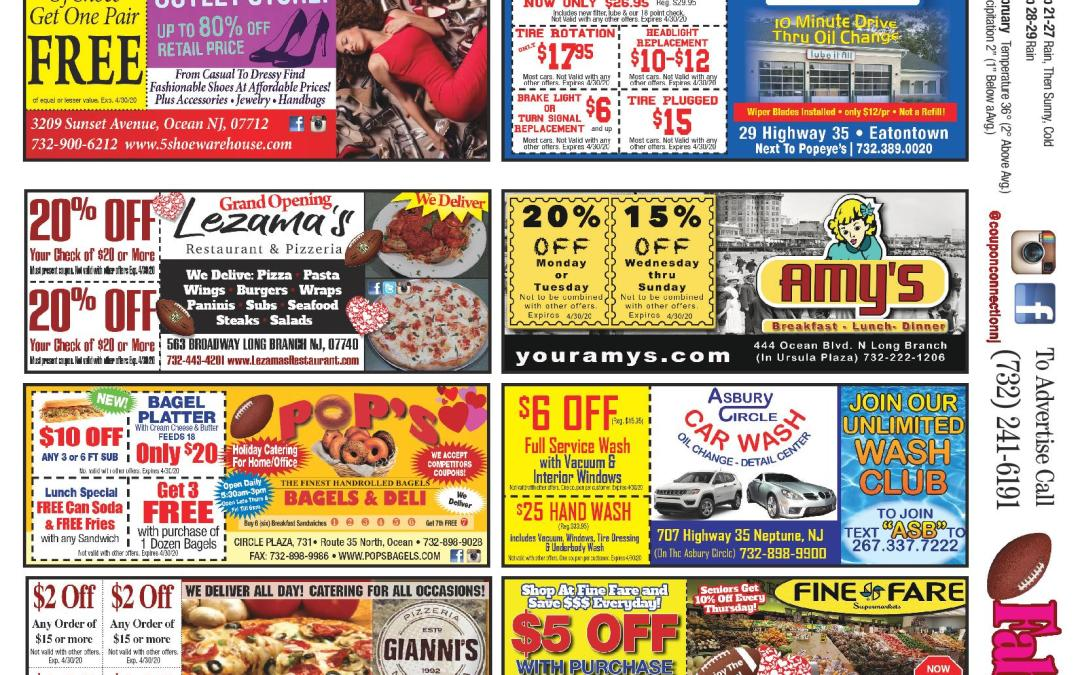 Jan/Feb/2020 Coupon Connection – Click Here To View Ads & Coupons