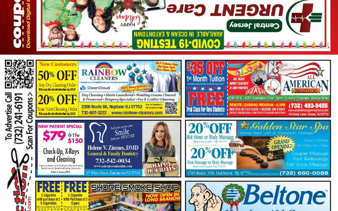 December/2020 Coupon Connection – Click Here To See Coupons & Savings