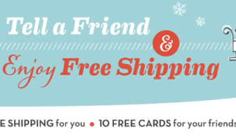 Shutterfly: FREE Shipping + Last Day For 40% Off Cards