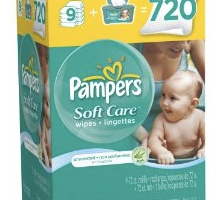 Amazon: 720 Pampers Unscented Wipes Just $0.02 Each (+ Free Shipping!)
