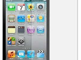 iPhone 4 Clear Screen Protectors (3-Pack) with Lint Cleaning Cloth $0.84 Shipped