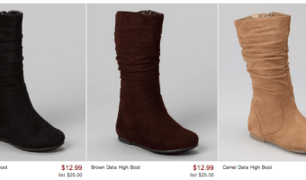 Zulily.com Girls Boot Sale: Toddler & Girls Prices Starting at $12.99