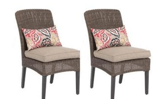 Patio Dining Chairs with Cushions Just $54.25 (Regular $217!)