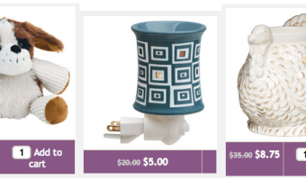 Scentsy Monster Monday Sale: Up to 75% Off Select Products