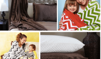 Bebe Bella Designs: 70% Off Adult Minky Throws and Pillowcases Starting at $9