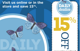 Take 15% Off Your Entire In-Store Pier 1 Imports Purchase