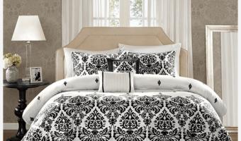Designer Living: 5-Piece Comforter Sets Starting at $34.99 for Queen & King Size Beds