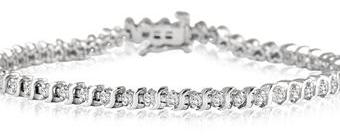 Szul: Genuine Diamond Tennis Bracelet Only $119 + Free Shipping (Reg. $419+)
