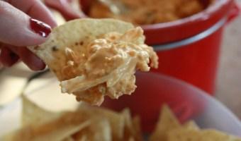 Buffalo Chicken Dip Appetizer Recipe