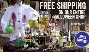 WorldMarket.com: Free Shipping on Halloween Items + 20% Off Select Purchases