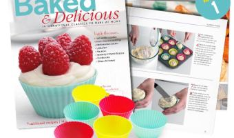 Free Baked & Delicious Magazine + 6 Silicone Baking Cups!