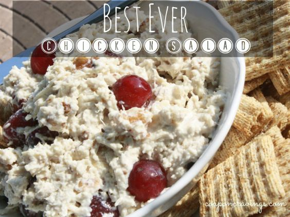 This recipe is truly the best ever chicken salad recipe you will get your hands on. A for sure winner! https://couponcravings.com/best-ever-chicken-salad/