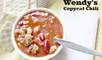 Wendy's Copycat Chili Recipe