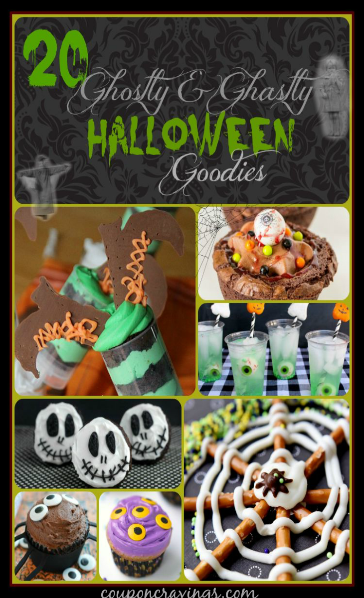 Looking for fun and unique Halloween food or food for a halloween party? I am loving all of the ideas my blogger friends have come up with! I scoured the internet and the Pinterest Halloween boards to find 20 adorable Halloween party food ideas and let me tell you, some are just downright creepy - but oh, so much fun! I think I could take a handful of #7 right now, even - YUM! Pin this post to your party board, or your Halloween board so your ready with ideas galore to plan your Halloween get together! https://couponcravings.com/20-Halloween-Treats-Not-to-Miss/