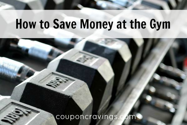 how to save money at the gym