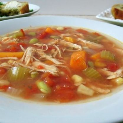 Crock Pot Chicken Vegetable Soup
