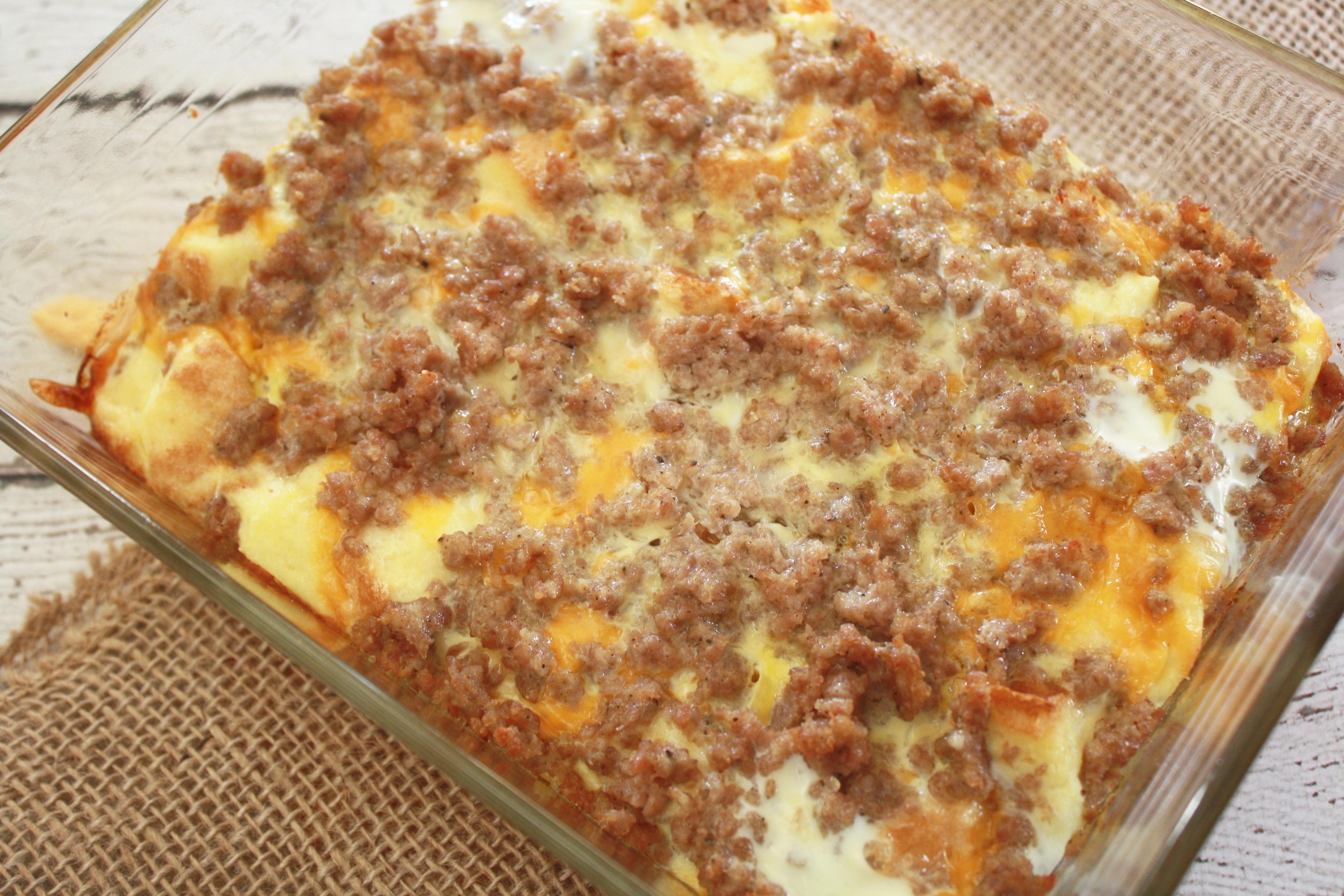Breakfast Sausage Casserole Recipe