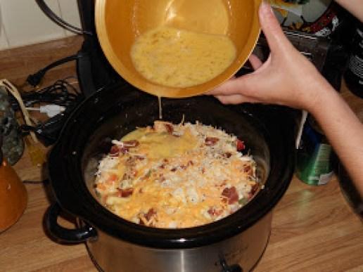 crock pot egg brunch casserole