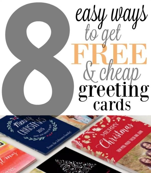 Ways to Save on Christmas Greeting Cards