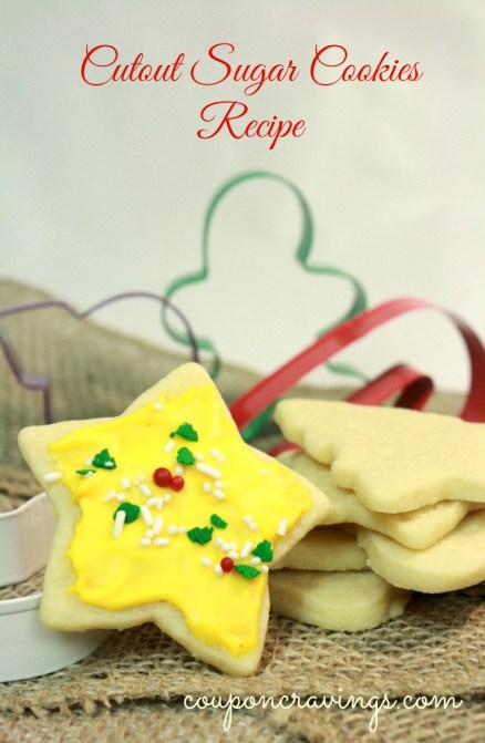 On the hunt for the perfect Cutout Sugar Cookie? This is it - I sometimes make it in two steps. My dough and cookies in one day and frost them the next. This Christmas Cookies recipe is perfect!