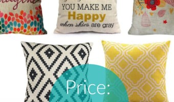 Decorative Pillow Covers as Low As $3 Each!