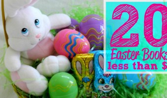 20 Kids Easter Books on Sale for Less Than $6 Each!