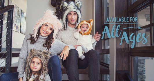 free animal hat for kids