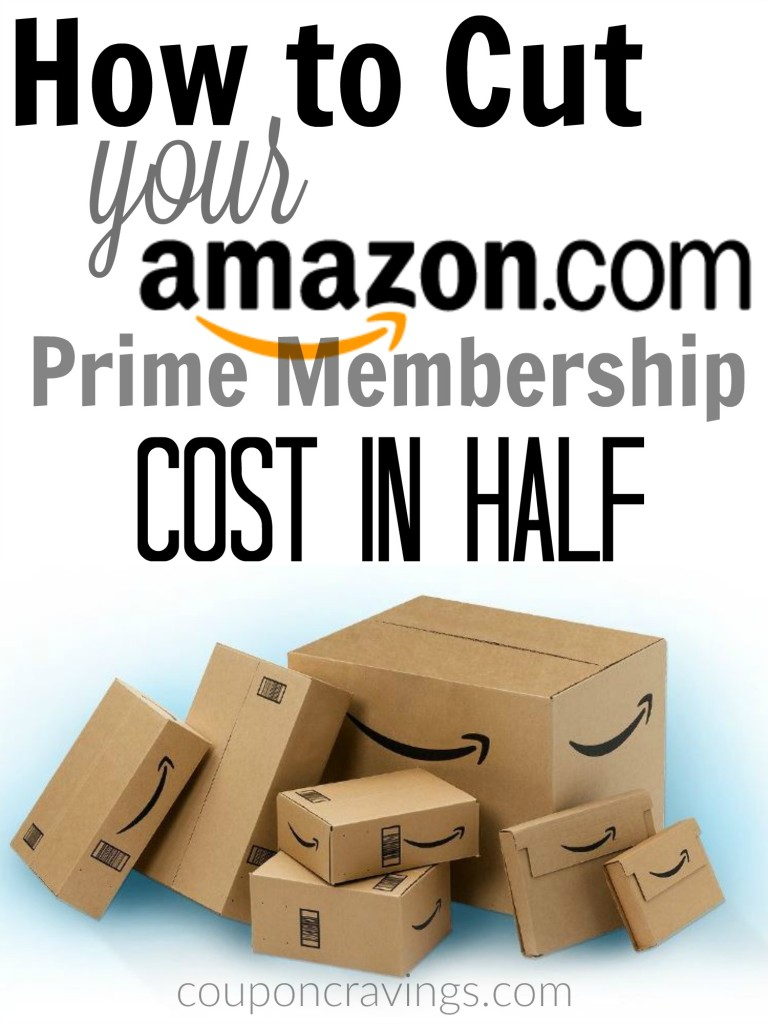 How to Lessen Your Amazon Prime Cost
