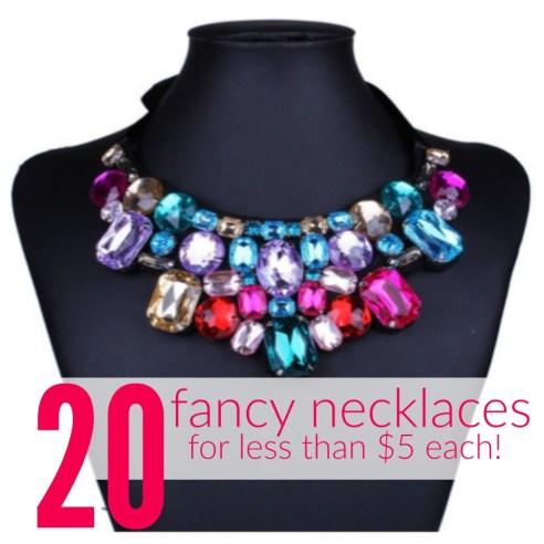 Fancy Necklaces on Sale