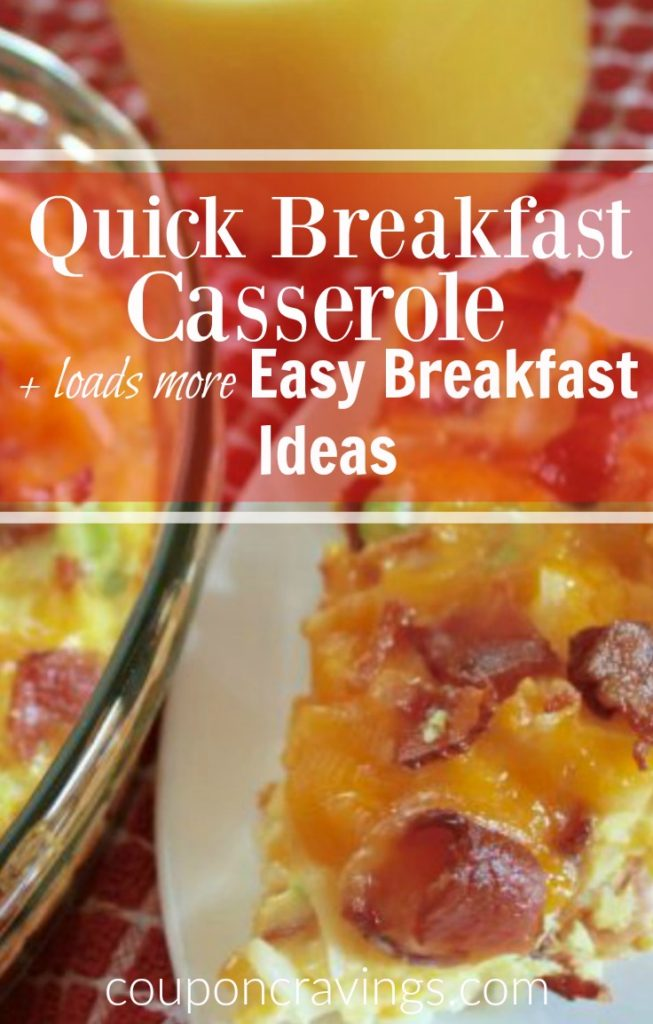 The best quick and easy breakfast recipes for busy families.