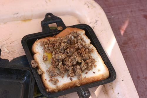 pie iron breakfast