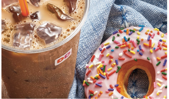 $10 Dunkin' Donuts Gift Card, Only $5 for Select Members!