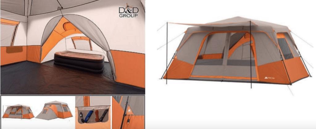 Ozark Trail 14u0027 x 14u0027 Instant Cabin Tent & Ozark Trail 14u0027 x 14u0027 Instant Cabin Tent Sleeps 11! Only $99.97 -